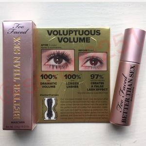 2️⃣ for $19!💖Too Faced Better Than Sex Mascara